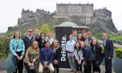 CIS students studying abroad in Scotland - 2018
