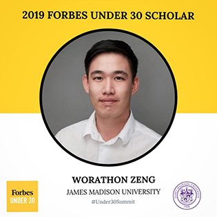 Worth Zeng - Forbes Under 30 Summit - 2019