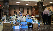 Collections for the Brent Berry Food Drive - 2014