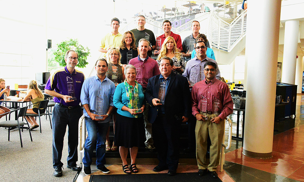 Faculty Award Winners 2016