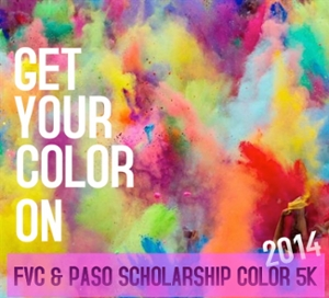 Flyer for Color 5k