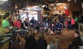 Eric Korn Class Visits Shenandoah Bicycle - 2014