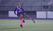 Finance major, Erica Royal during JMU field hockey game