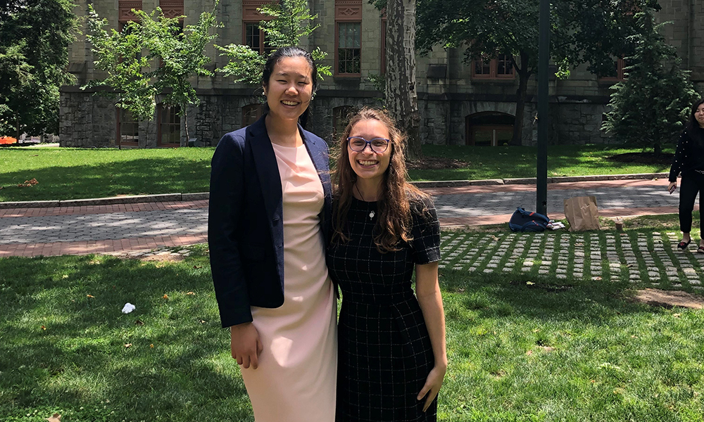 "Averill Wong and Danielle Bragale are ""Girls Who Invest"" - 2019"