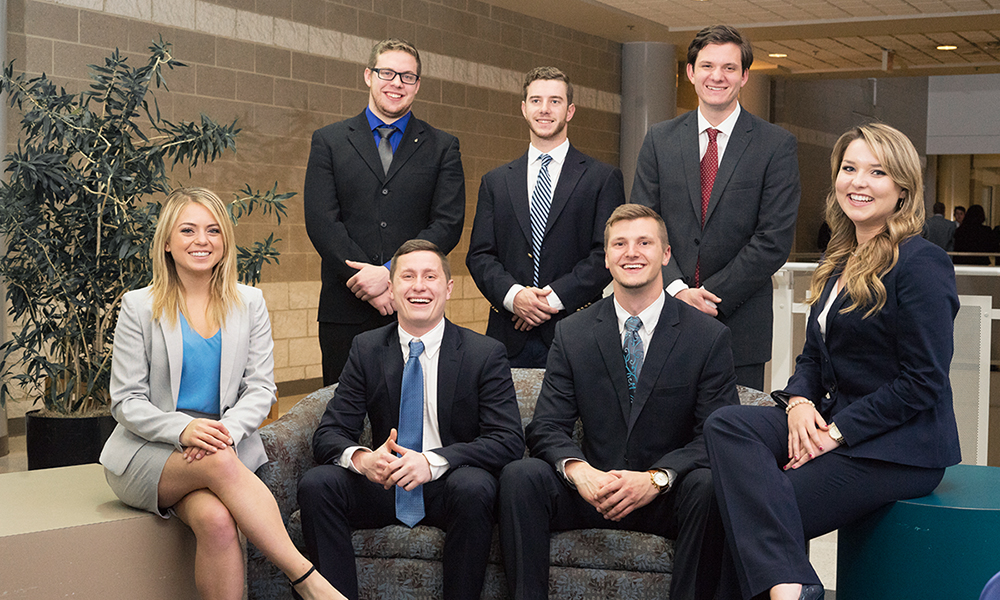 Team Infuzed from 2017 Jackson Rainey Business Plan Competition