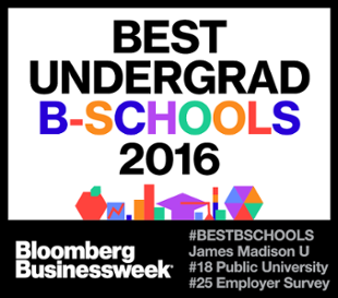 Bloomberg Business Week Best Undergraduate B-Schools 2016 #18 Public University
