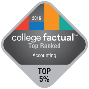 College Factual - Top Ranked - Accounting - 2016