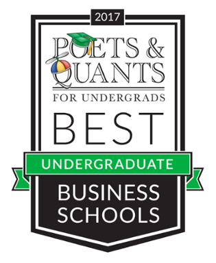 Poets & Quants Best Undergraduate Business Schools - 2017