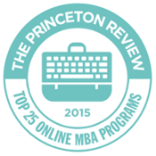 The Princeton Review - 2015 Top 25 Online MBA Programs