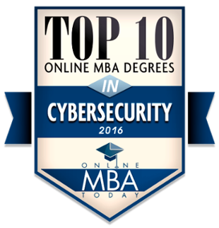 Top 10 Online MBA Degrees in CyberSecurity - 2016