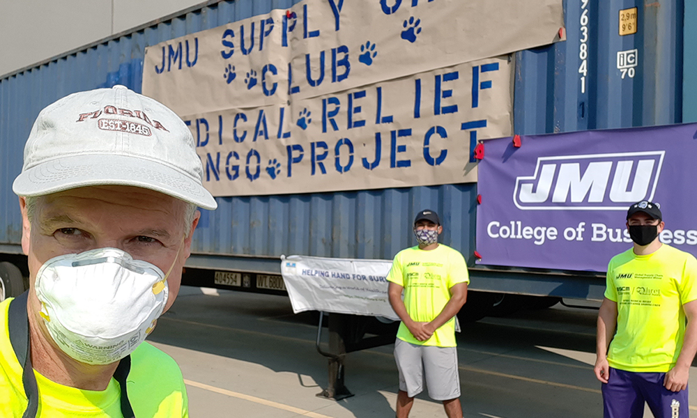 Bill Ritchie & the JMU Supply Chain Club Congo Medical Relief Project