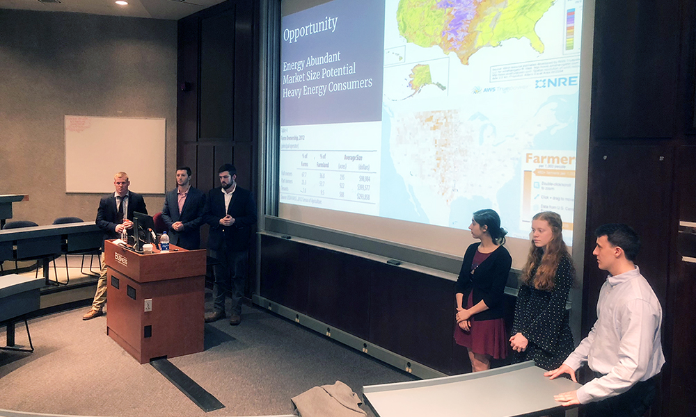 Management students compete in National Wind Energy Competition - 2018