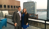 Amanda Zwerin and Josh Warren - NYC Alumni Event - 2016