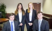 CPS team that competed in the National Collegiate Sales Competition in 2017