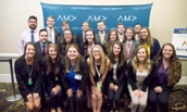JMU Madison Marketing Association a at the AMA Collegiate Conference - 2017