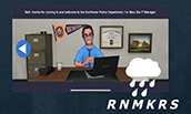 Screenshot from RNMKRS Virtual Sales Competition