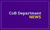 College of Business Department News