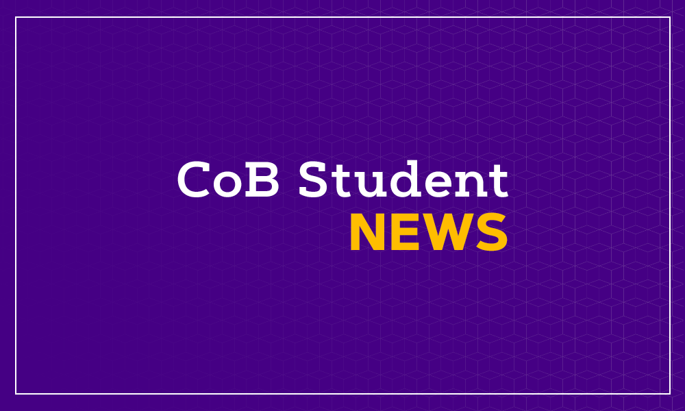 College of Business Student News