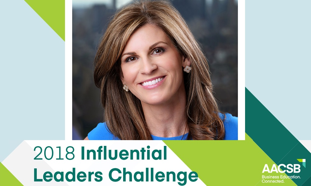 Jennifer Morgan named one of AACSB's 2018 Influential Leaders