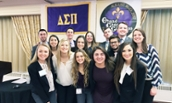 JMU Chapter of Delta Sigma Pi at LEAD conference - February 2017