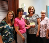Friends of Valley Charities Presents Check to RMH Foundation