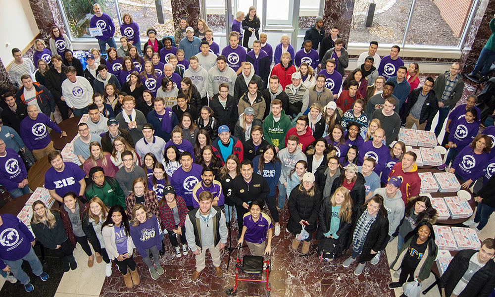 Students and Faculty who participated in the CoB MLK Day of Service - 2018