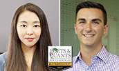 Carrie Bao & Michael Habib - Poets&Quants Best and Brightest - 2017
