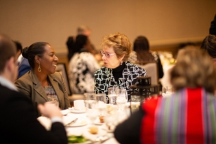 Christy Coleman chats with Karen Ford at Leading Change Conference - 2019