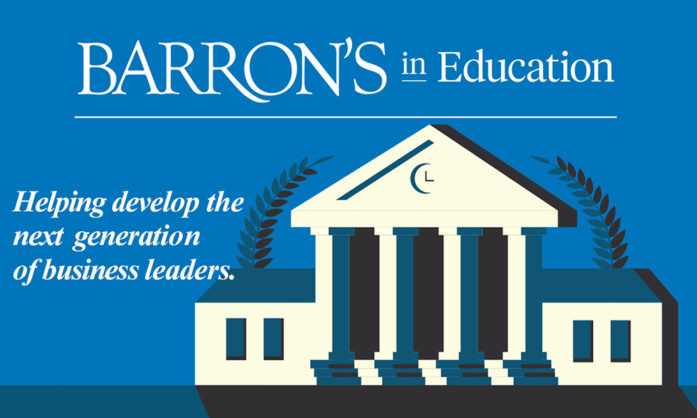 Barron's in Education - Helping develop the next generation of business leaders.