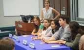 Internship Panel lead by Leandra Rios - 2018