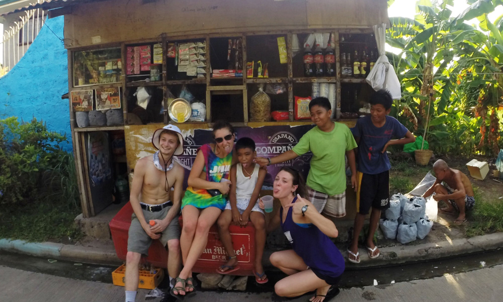 QFin Student Jesse Mark Study Abroad in the Philippines