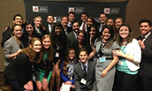 Madison Marketing Association Group Picture at AMA Competition 2015