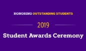 Student Awards Ceremony - 2019