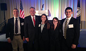 JMU College of Business Students with Governor Terry McAuliff at VITAL conference in 2015