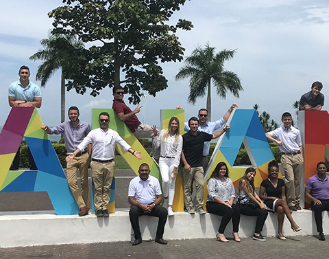 JMU Global Supply Chain in Panama and Colombia