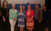 Area Teachers of the Year Visit the COE