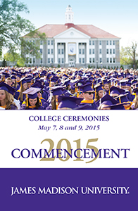 2015 College Ceremonies Program