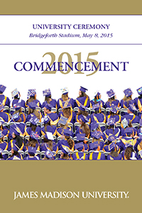 2015 University Ceremony Program