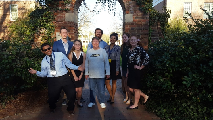 CSM students delivered posters at the recent Colonial Academic Alliance Undergraduate Research Conference, held at Elon College!