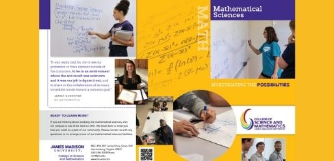 Mathematical Sciences Brochure