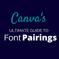 image for Canva's font pairing resource