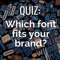 Link to DigiComm's Font Quiz