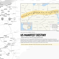 image of storymap landing page, with an overview of map and details.