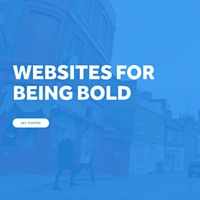 image of Weebly landing page