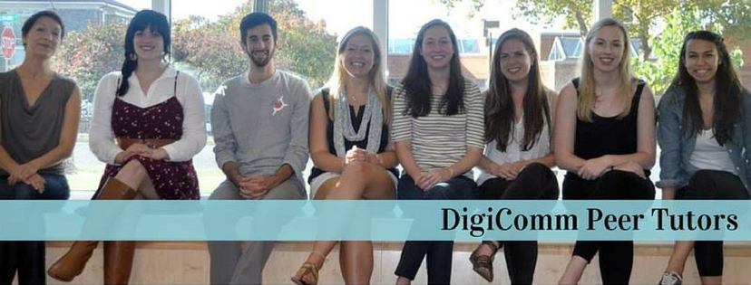 Picture of the founding tutors of DigiComm: 2014-2015