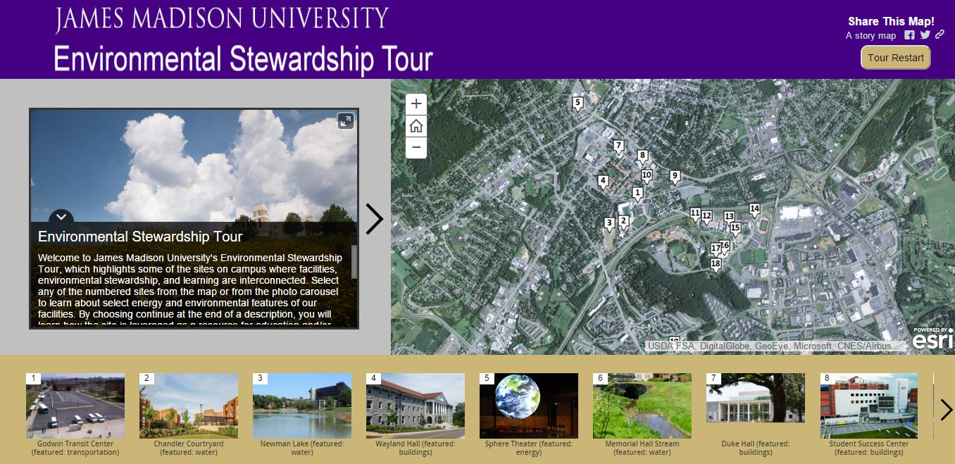 environmental stewardship tour link