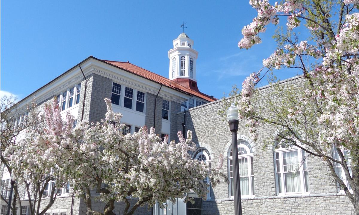 Image: Wilson Hall in Spring