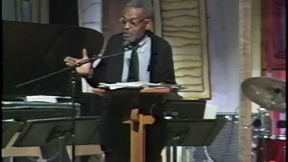 Amiri Baraka: live performance in 1994