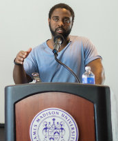 R. Dwayne Betts reads at JMU in 2015