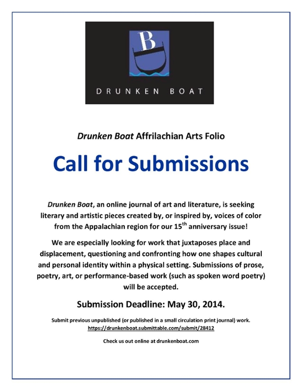 Submission deadline is May 30, 2014